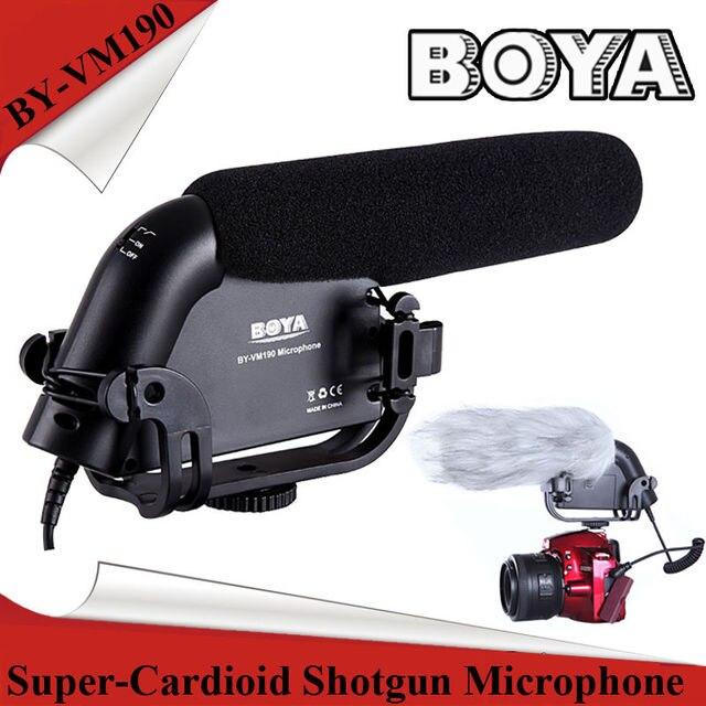 Фирменные shotgun микрофон с Лобового Стекла Для DSLR видеокамеры
