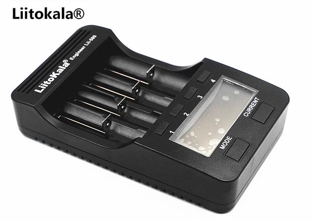 LiitoKala Lii-500 LCD 18650 Battery Charger Lii500 For 18650/26650/16340/17500/14500/AA/AAA/Ni-MH/Ni-Cd Rechargeable Batteries