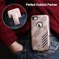 FLOVEME Броня Case Для iPhone 6 s 6 Plus Зажим Для Ремня Shell гибридный Полный Защитный Противоударный Телефон Случаях Для iPhone 7 7 Plus крышка
