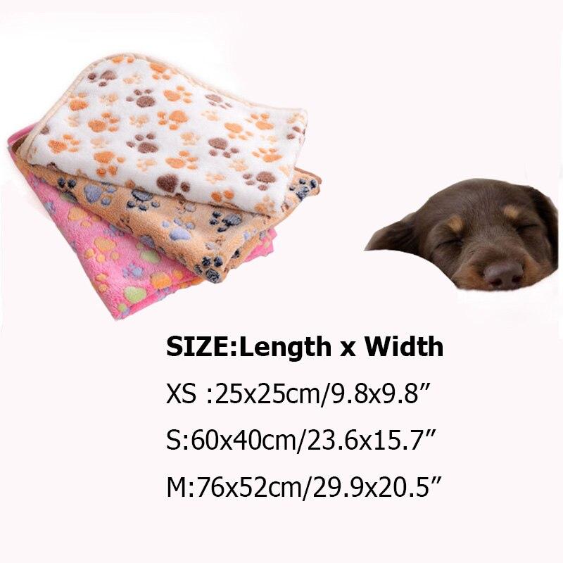 Beds Dogs New Arrivals Pet Soft Mattress Paw Print  My Pet World Store