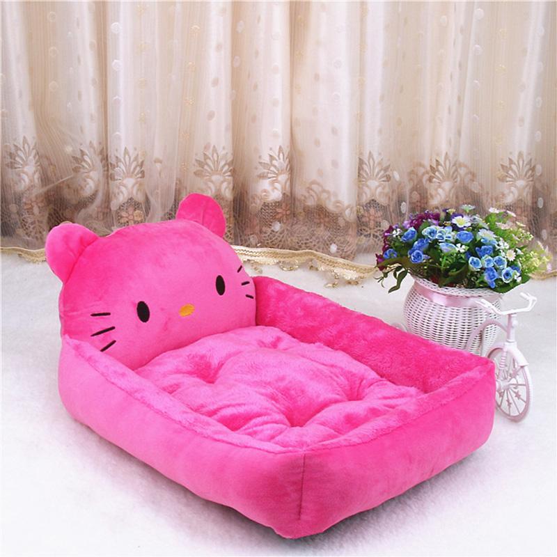 PP Cotton Kennels Cat House Dog Pad Teddy Mats Big Blanket Supplies Cute Pet Dog Bed Mats Animal Cartoon Shaped Pet Sofa Kennels 13