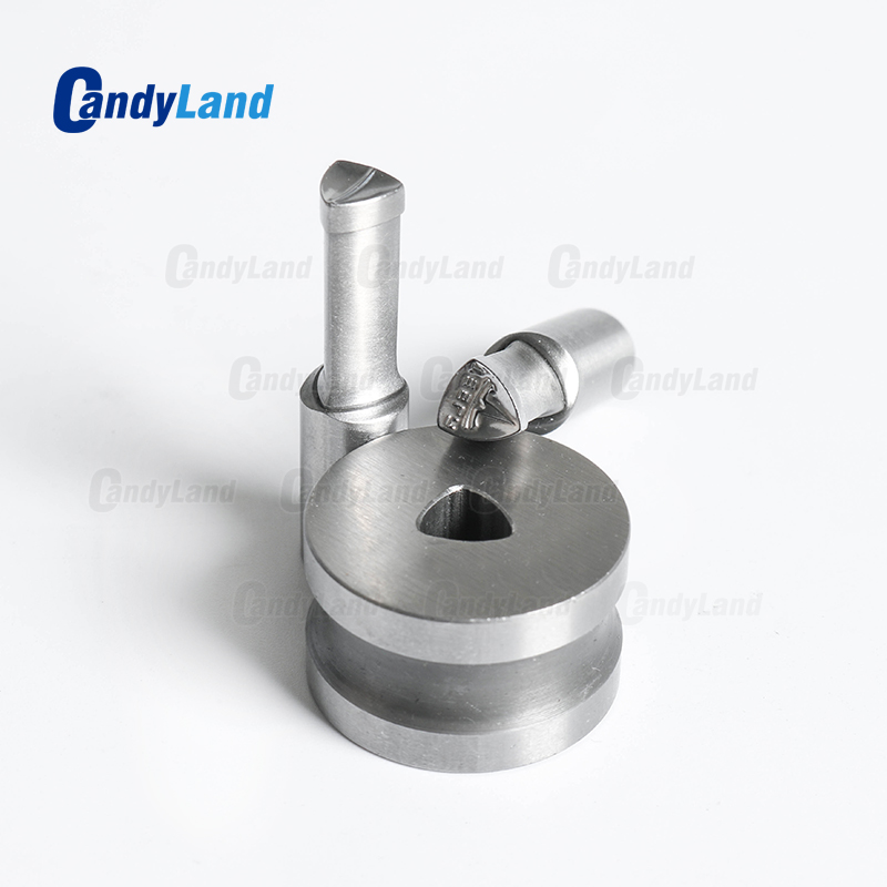 CandyLand TS Milk Tablet Die 3D Punch Press Mold Candy Punching Die Custom Logo Calcium Tablet Punch Die For TDP1.5 Machine-in Punching Machine from Tools    3