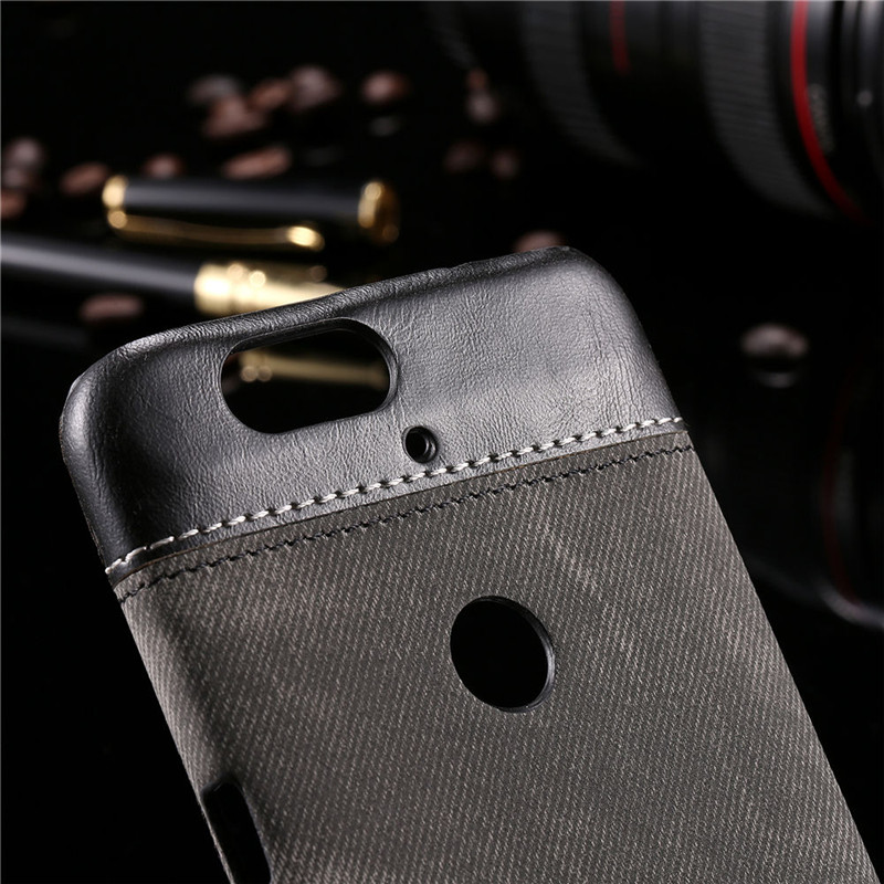 online retailer 59b15 baf19 Deluxe PU Leather Jean Vintage Denim Business Case For LG Google Nexus 5  For Nexus 6P Cowboy Man Canvas Phone Leather Covers