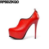 Туфли лодочки на высоком каблуке с очень круглым носком, обувь на платформе в готическом стиле ручной работы, обувь для стриптиза, экстремал