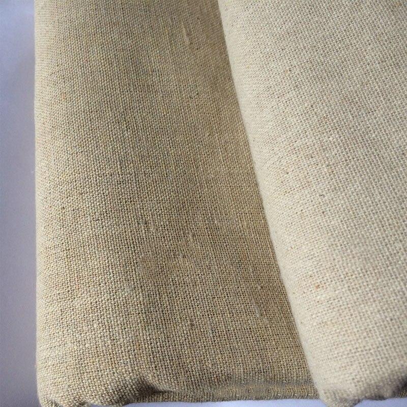 Винтажная льняная ткань из конопли, картина в стиле пэчворк хлопок, мешковина, шитье, текстиль, квилтинг, тильда, сделай сам, органическая тк...