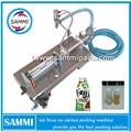 3 à 25ml conception raisonnable opération facile G1WY-25 pneumatique simple tête liquide machine de remplissage