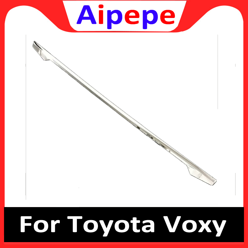Auto Rear Trunk Trim Tail Tailgate Door Sticker for Toyota Voxy 2017 2018 Abs Chrome Auto Accessories|Chromium Styling| |  - title=