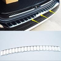 Lane Legend Case Fit For Volkswagen Touareg 2011 2012 2013 2014 2017 ABS Chrome Rear Bumper