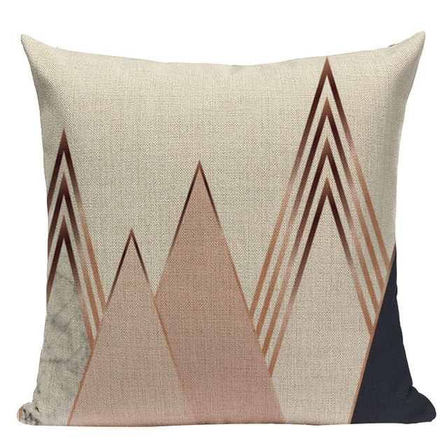 Nordic Pop Geometric Pillowcase Size: L313 Color: L313-25