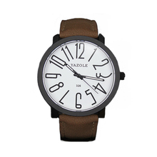 Luxury brands men's quartz watch Casual Fashion Leather watches reloj masculino business watch Waterproof C4322P20