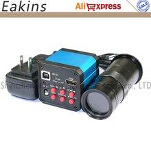 Big sale 14.0MP Japan COMS Sensor 720p HDMI+USB+TF HD Digital Industry Microscope Camera Magnifier C-mount Camera +Free Zoom C-mount Lens