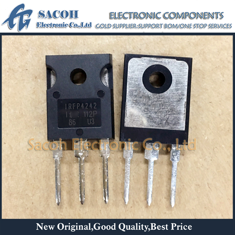Free Shipping 10Pcs IRFP4242PBF IRFP4242 IRFP4232 TO-247 33A 300V Power MOSFET Transistor