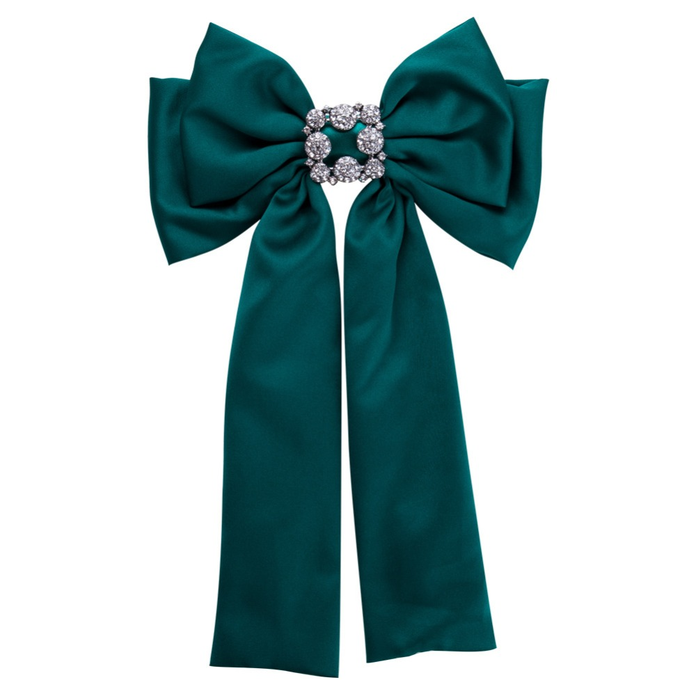 Costumebuy Vintage Women Shirt Dress Bowknot Bows Cravat Bowtie Ribbon Pour Homme Neck Ties Pins Brooches Outfit Badge