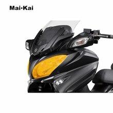 MAIKAI For Suzuki BURGMAN650 BURGMAN 650 2017-2018 Motorcycle Headlight Protector Cover Shield Screen Lens