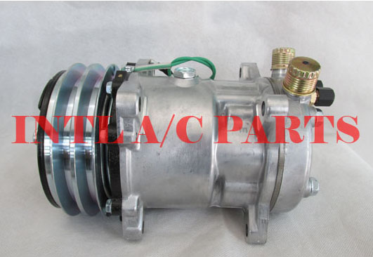 US $56 0  auto ac air conditioning ac compressor FOR sanden SD508 SD5H14  5S14-in Air-conditioning Installation from Automobiles & Motorcycles on