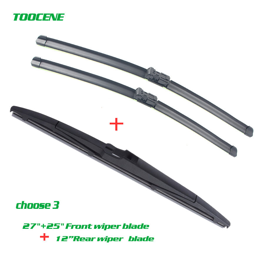 Front And Rear Wiper Blades For Opel Astra J 2009 2015 Windshield wiper Windscreen Car Accessories 27+25+12K