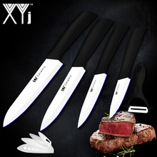 High Quality Ceramic Knife Set 3 4 5 6 Inch White Blade Black Handle New Zirconium Oxide Ceramic Kitchen Knives Cooking Tools