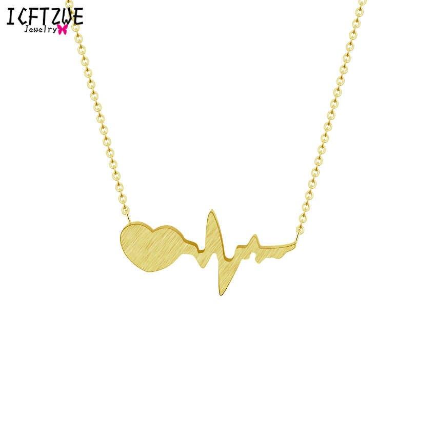 Ze stali nierdzewnej serce strzałka wisiorki złoty kolor Erkek Kolye One Direction bicie serca naszyjnik dla kobiet oświadczenie Boho biżuteria