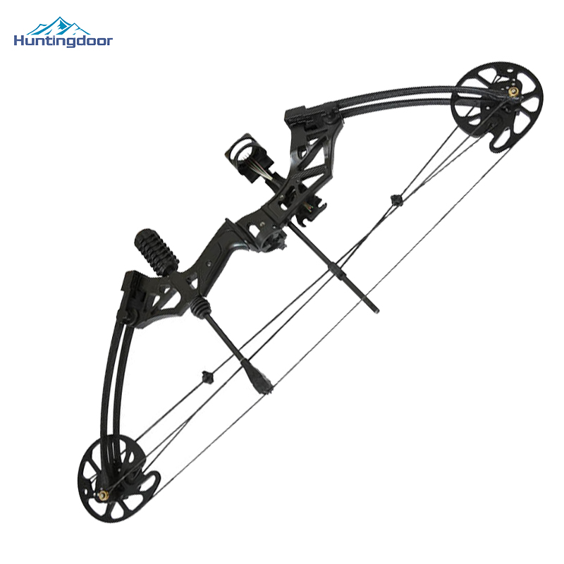 Quality Hunting Archery Compound Bow with Adjustable 35-70lbs Shooting Competition Practice Slingshot Bow with Accessories 50lbs archery compound bow left right handed for hunting target shooting competition sport slingshot bow camouflage black color