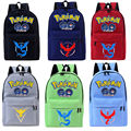 Pokemon GO Backpack For teenagers Girls Boys 2016 children School Bags Rucksack Canvas Travel bags Mochila