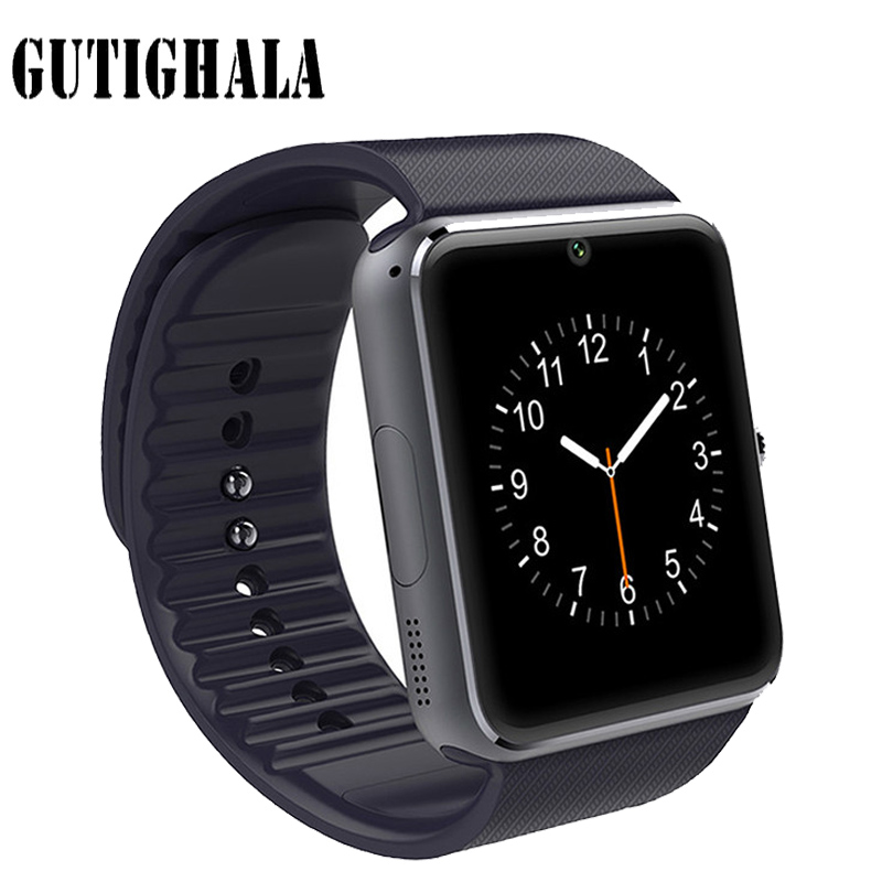 Gutighala Smart Watch GT08 Reloj Inteligente Support Sim Card Bluetooth Connectivity for Iphone Android Phone Smartwatch цена