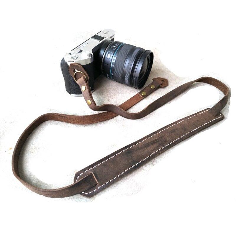 Color : Black Camera Belt Accessory Vintage Canvas Camera Wrist Strap for DSLR Digital Camera Durable