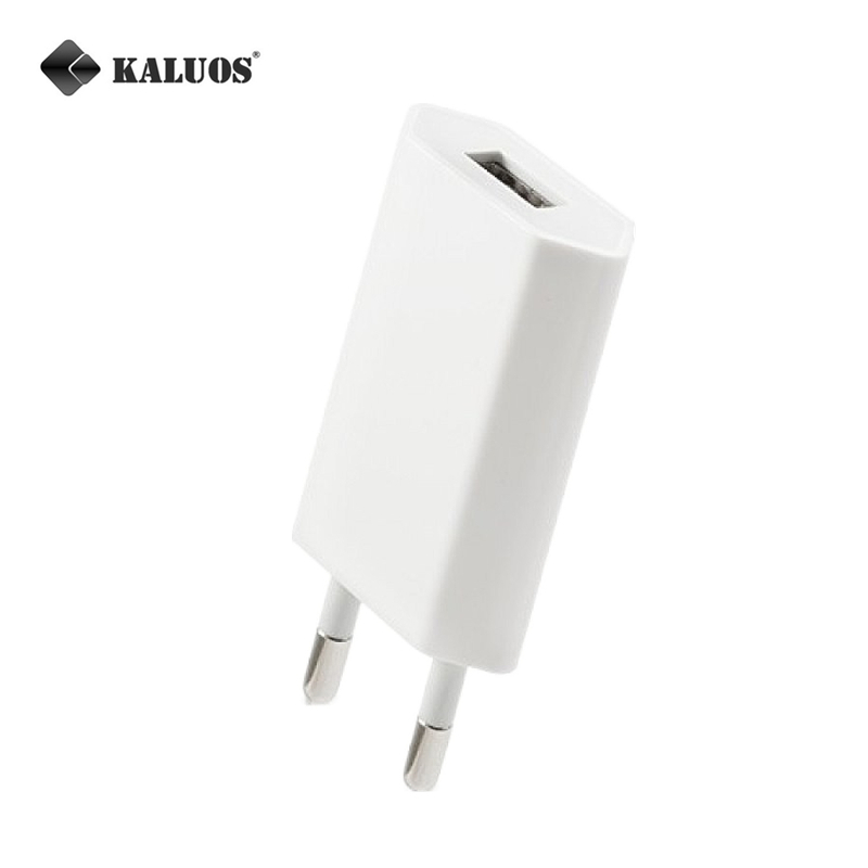 UE EUA Carregador de Parede de Viagem USB 5 V 1A Carregamento Rápido Para o  iphone Da Apple 5 5C 5S 6 S 6 7 Plus 8 X SE taxa de Telefone Móvel  Universal AC ... b97a2ab1d0241
