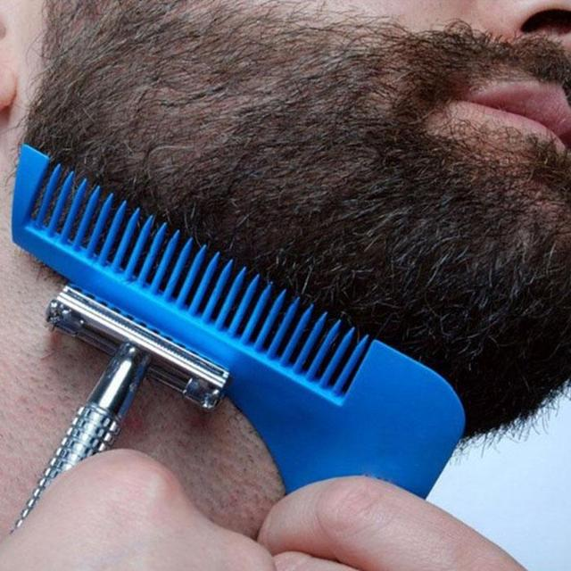portable buddy hairline beard symmetry lining shaping edging guide
