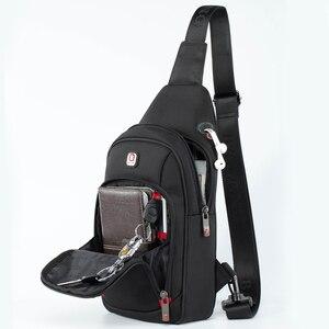 BALANG كروسبودي حقائب الرجال رسول حقيبة صدر للرجال حزمة حقيبة عادية للماء النايلون واحد حزام الكتف حزمة 2019 جديد أزياء