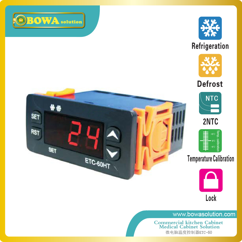 Microcomputer Temperature Controllers for commerce kitchen cabinet or refrigeration showcase or wine chest  цены