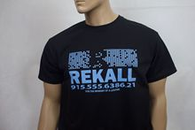 Total Recall (1990) inspired movie t-shirt - Rekall New T Shirts Funny Tops Tee Unisex  High Quality Casual Printing
