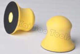 Manual 3inch Abrasive Hand Sanding Block with Hook and Loop Vinyl in 72 5mm Dia Polishing