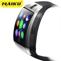 Naiku Q18 passometer reloj inteligente con pantalla táctil de la Cámara TF tarjeta Bluetooth smartwatch para Android IOS teléfono