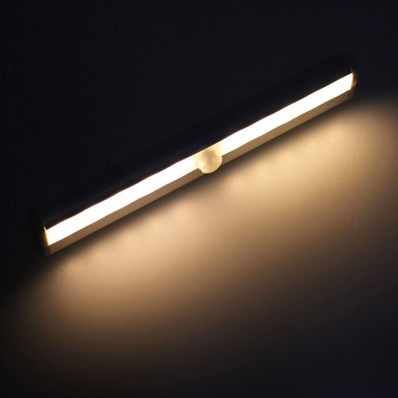 Batterie Ir Infrarot Bewegungsmelder Schrank Nachtlicht 6led