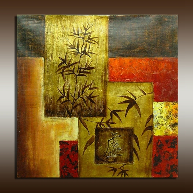 Popular decorative wall art modern painting tree and for Buy abstract art online