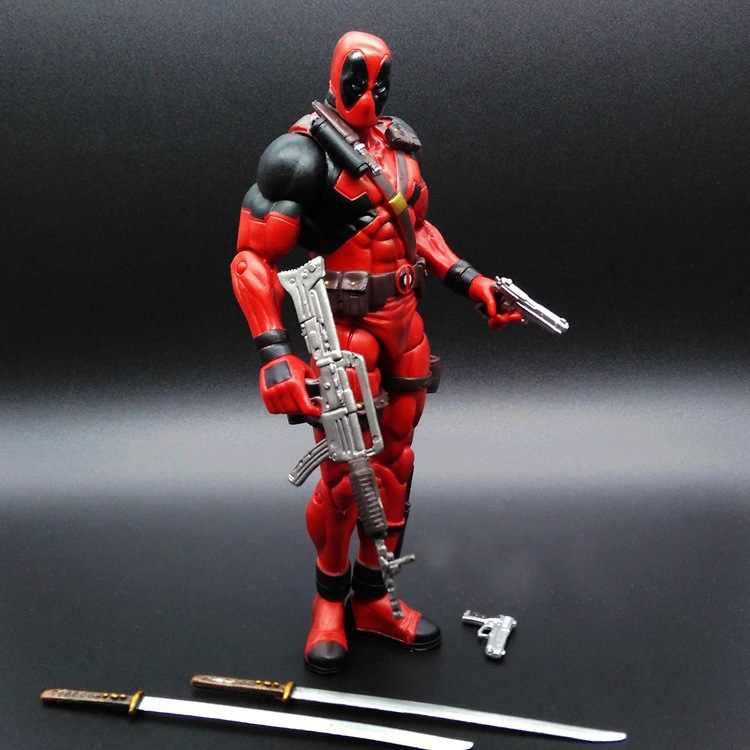 """7 """"Anime hình Chọn Siêu Anh Hùng Deadpool X Người Hành Động Hình Deadpool Wade Wilson PVC Hình Đồ Chơi"""