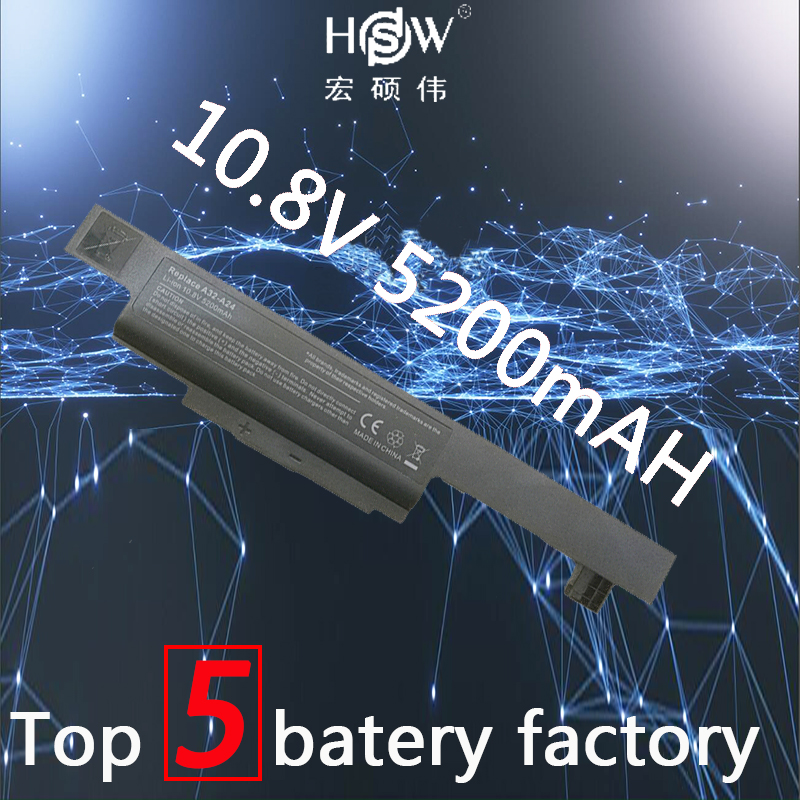 HSW laptop battery For <font><b>MSI</b></font> A32-A24,for HASEE K500A batterie K480A K480P <font><b>CX480</b></font> notebook batteries MD98042 laptop battery bateria image