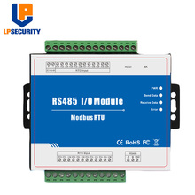 Modbus RTU модуль дистанционного ввода 8 RTD входы поддерживает стандартный Modbus TCP с RS485 в режиме реального времени мониторинга IOT устройства M340