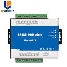 Modbus RTU รีโมทคอนโทรลโมดูล IO 8 RTD อินพุตรองรับมาตรฐาน Modbus TCP กับ RS485 การตรวจสอบอุปกรณ์ IOT m340