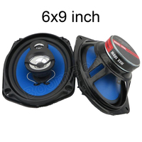 Best Selling 2 Pcs 2 Way 6x9 Inch Coaxial Car Speaker Car Audio Stereo Speaker 2x180W