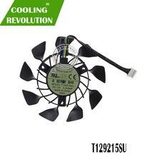 T129215SU 0.5A 85 мм 4Pin GTX970 GTX760 GPU VGA охлаждающий вентилятор Графика карты вентилятор для ASUS GeForce GTX 760 670 970 DC мини вентилятор охлаждения