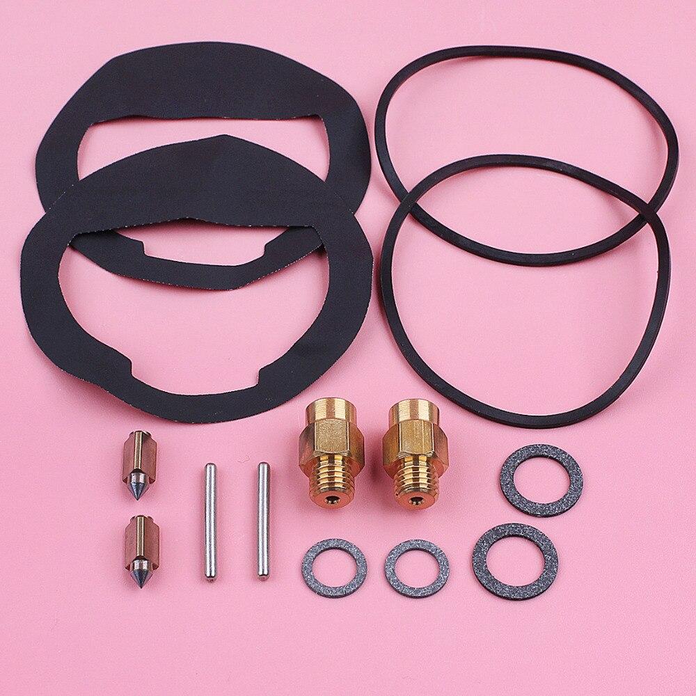 2pcs/lot Carburetor Repair Rebuild Kit For Kohler K90 K91 K141 K160 K161 K181 K191 K241 K301 K321 K330 K331 K341 Mower Part