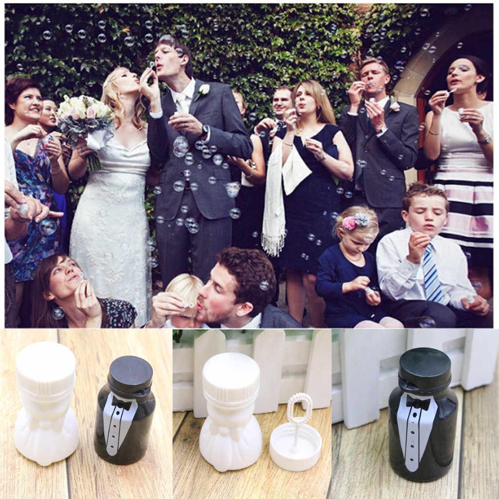 Bruiloft 1 Bruid 1 Bruidegom Party Receptie Bubble Fles Tafel Party Decoraties fa