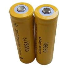 DING LI SHI JIA XH 6Pcs/lot 3.7V 18650 3.7v 2000mah battery High-capa Li-ion Rechargeable Battery 18650 lithium batteries
