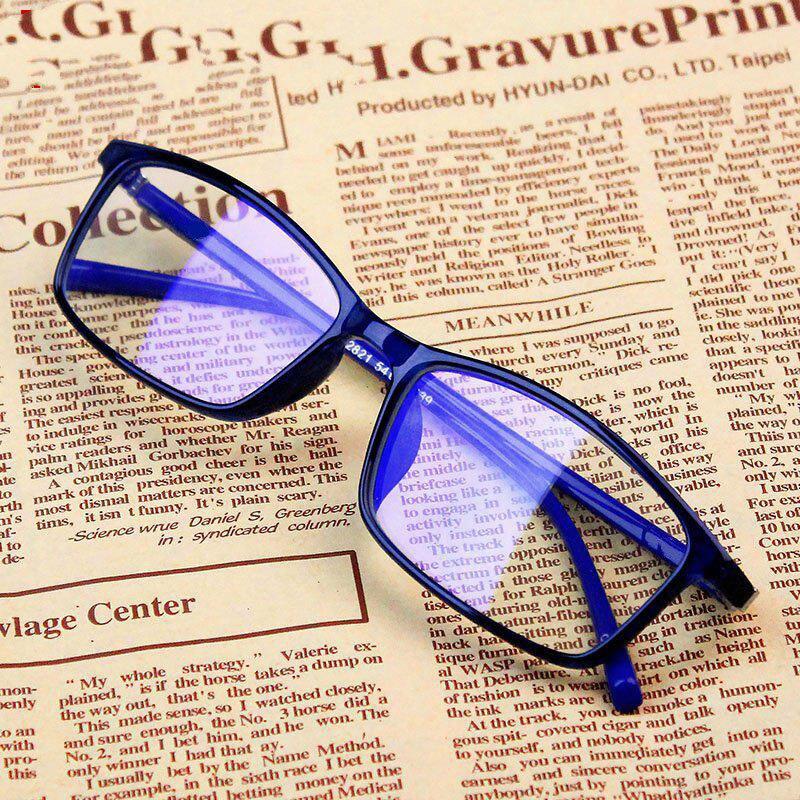 Women Blue Film Radiation Protection Glasses Frames Optica Spectacle Square Glasses Frame Men Anti Blue Light Eyeglasses