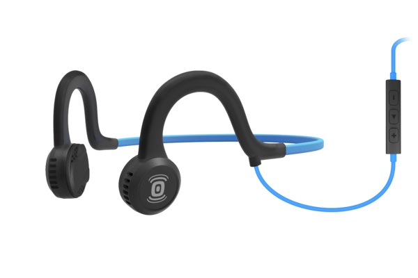 2018 New  SPORTZ TITANIUM Bone Conduction headphone Sports earphone with mic For Running By AfterShokz AS451