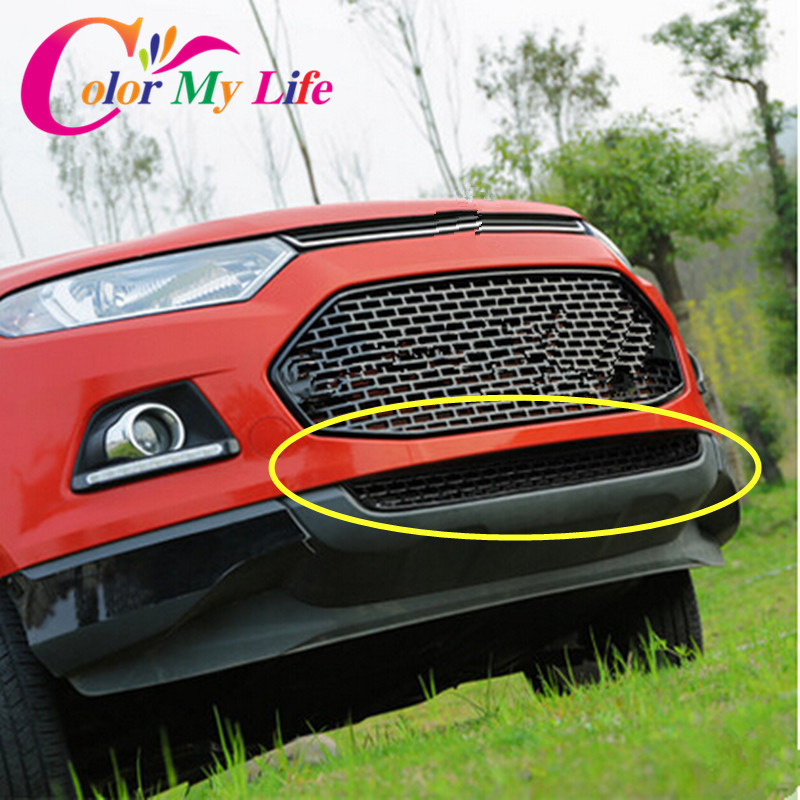 Color My Life Abs Car Accessories Front Grill Car Grille Front Bumper Grille Refit For Ford Ecosport    In Racing Grills From