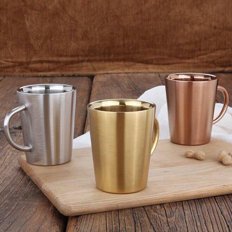 Steel Rose Coffee Mug Stainless Gold xQshtCrd