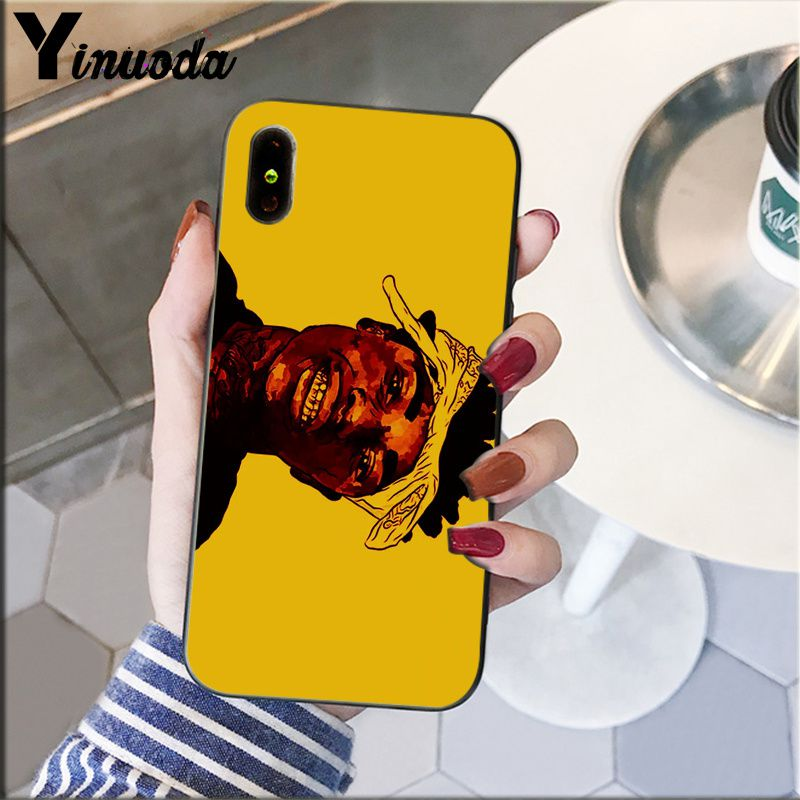 Image 5 - Yinuoda Kodak Black Rapper Soft Silicone black Phone Case for Apple iPhone 8 7 6 6S Plus X XS MAX 5 5S SE XR Cellphones-in Half-wrapped Cases from Cellphones & Telecommunications