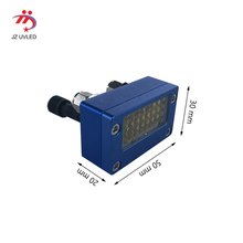 UV インク硬化スモールランプ 395nm epson ヘッド dx5 プリンタ用スクリーン印刷機の uv フラットベッドプリンタ 365nm uv 接着剤硬化